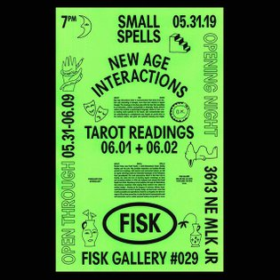 This Friday in the gallery (@fiskgallery) we have Small Spells (@smallspells) coming through form LA. Original drawings, 3 n...