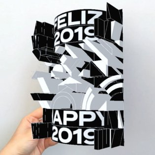 I had the pleasure of designing an AR new year's postcard for @esadmatosinhos, where I am currently studying. The AR interac...