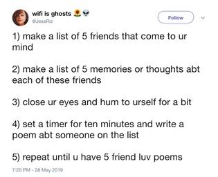 @JessRiz: friend luv poems