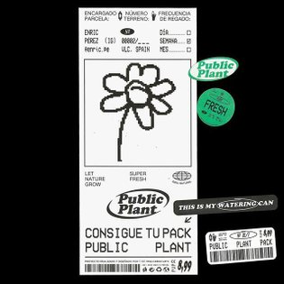 #Repost @pauladealvaro Public plant pack [Contains: 1 watering can, 1 poster, 10 stickers and some water]. A project about e...