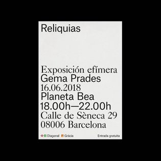 "Offset Studio on Instagram: ""Catalogue and poster design for @gema_prades's first solo exhibition. Graphic design by @offset..."