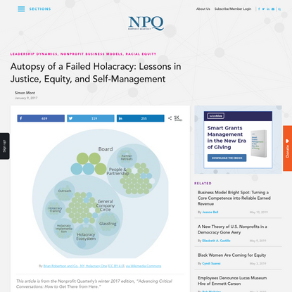 Autopsy of a Failed Holacracy: Lessons in Justice, Equity, and Self-Management - Non Profit News | Nonprofit Quarterly