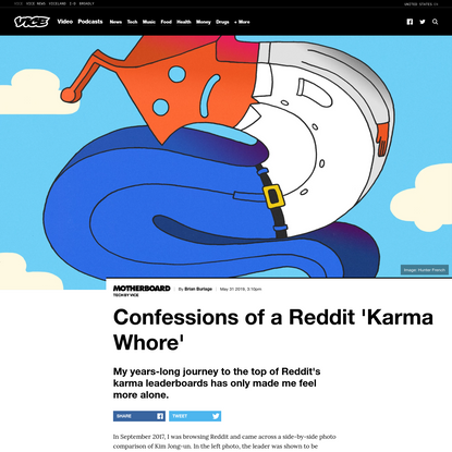 Confessions of a Reddit 'Karma Whore'