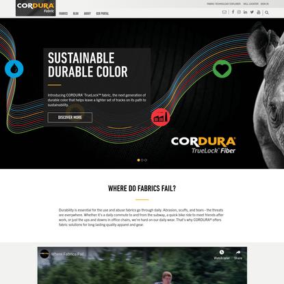 CORDURA® - Welcome