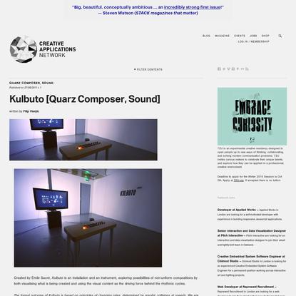 Kulbuto [Quarz Composer, Sound]