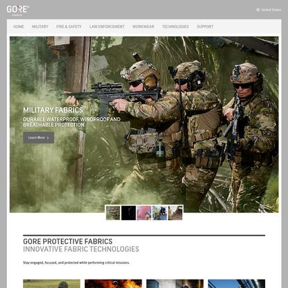 Innovative Fabric Technologies   GORE® Protective Fabrics