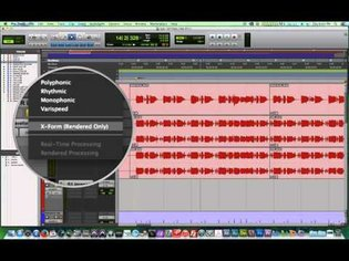 Pro Tools 11 - #22 - Elastic Pitch pt.1 - Pitch Shift with Polyphonic and X-Form