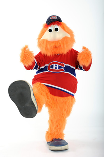 The Montreal Canadiens' Youppi!