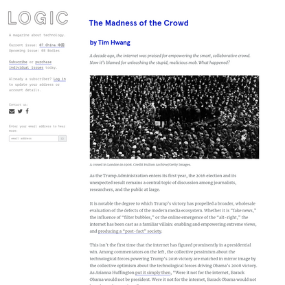 The Madness of the Crowd