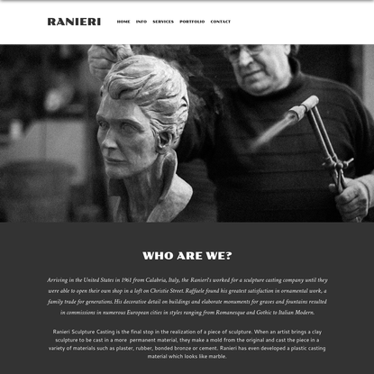 Ranieri Sculpture Casting - Ranieri