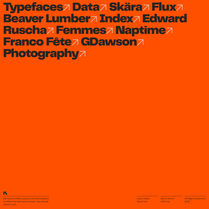 Nick Losacco - Graphic Designer