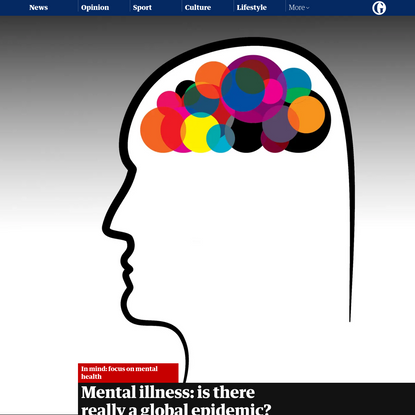 Mental illness: is there really a global epidemic?