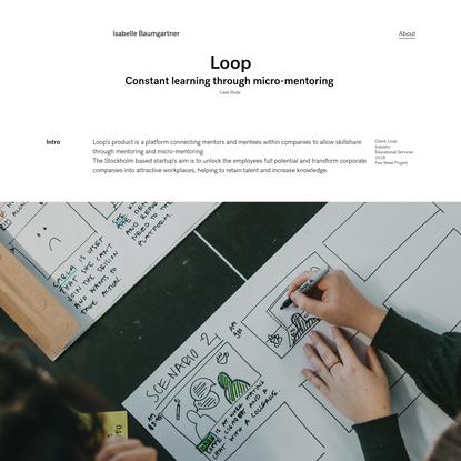 Portfolio - Loop