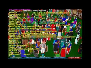 The final minute of Runescape Classic
