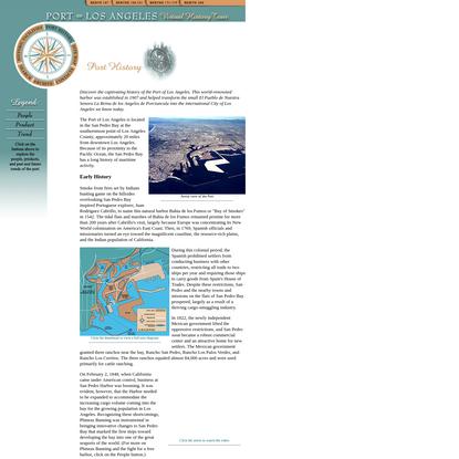 Port of Los Angeles Virtual History Tour   Port History