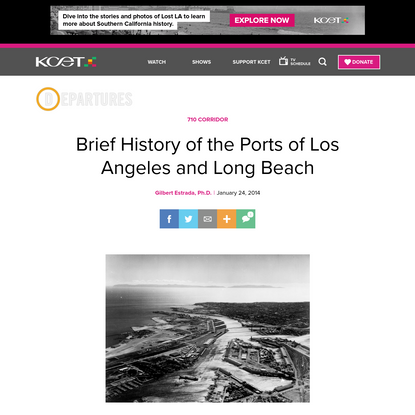 Brief History of the Ports of Los Angeles and Long Beach