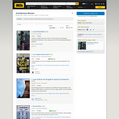 Architecture Movies - IMDb