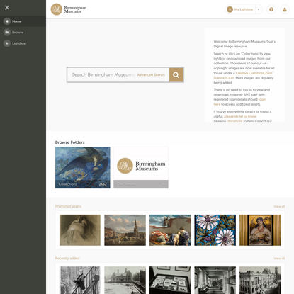 Birmingham Museums Trust | Home Page