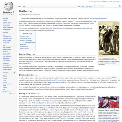 Red herring - Wikipedia
