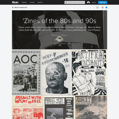 'Zines of the 80s and 90s