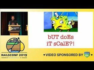 RailsConf 2019 - Opening Keynote by David Heinemeier Hansson