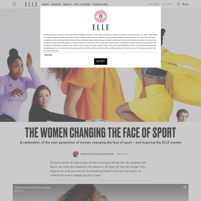 The Women Changing The Face Of Sport