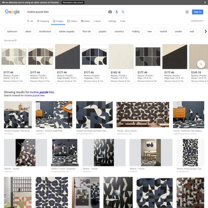 mutina puzzel tiles - Google Search