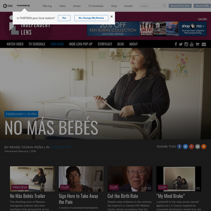 No Más Bebés | Documentary about Madrigal v. Quilligan Coerced Sterilization Case | Independent Lens | PBS
