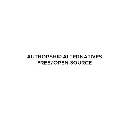 FREE/OPEN SOURCE