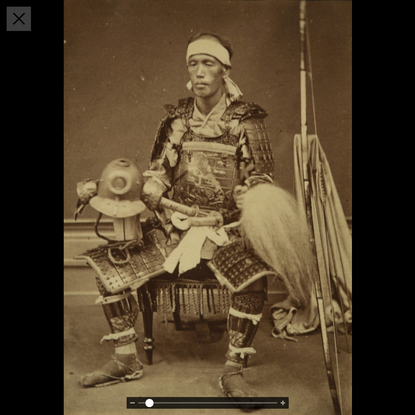 Japanese Antiquities | Photograph of a Samurai (ca. 1880), Available for Sale | Artsy