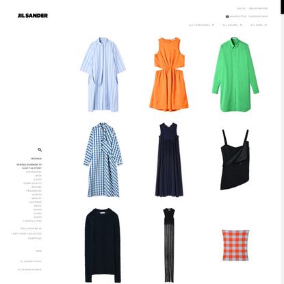 Women on Jil Sander Online Store