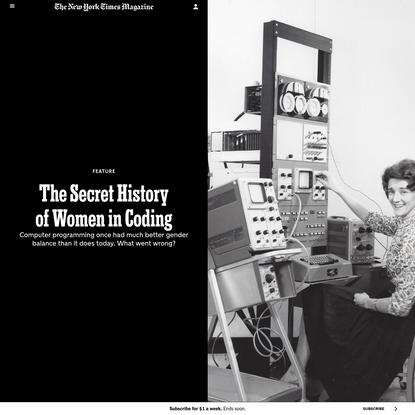 The Secret History of Women in Coding