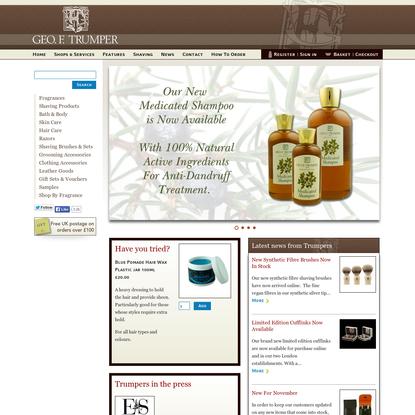 Geo F Trumper - Gentleman's barbers and perfumers