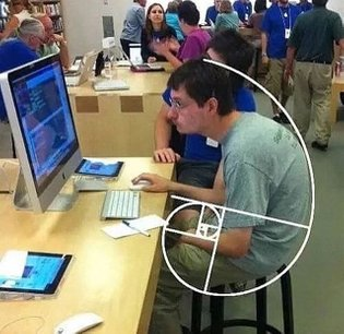 When you become a living golden ratio 😂 ➖ Get notified right away on our daily content, tap the triple dots on the top r...