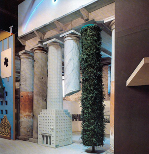 1st International Architecture Exhibition (Venice 1980) -    Hans Hollein's façade
