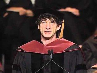 """Neil Gaiman 2012 Commencement Speech """"Make Good Art"""""""