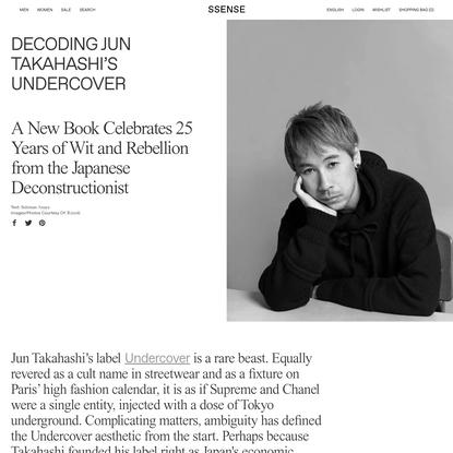 Decoding Jun Takahashi's Undercover