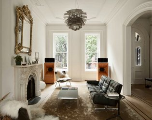 One of kind brownstone renovation combining Danish and Japanese aesthetics to create a truly minimalist abode. Via @nymag @d...