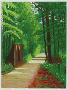 David Hockney, 28th April 2011 (The Arrival of Spring), 2011