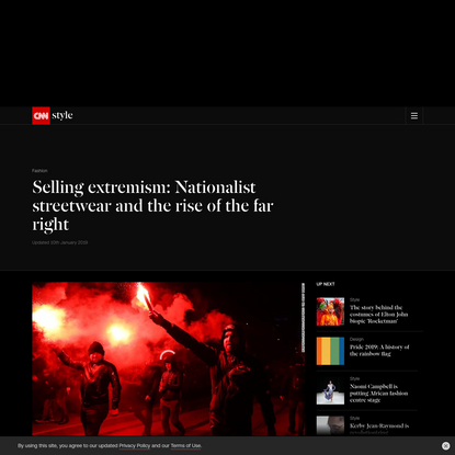 Selling extremism: Nationalist streetwear and the rise of the far right