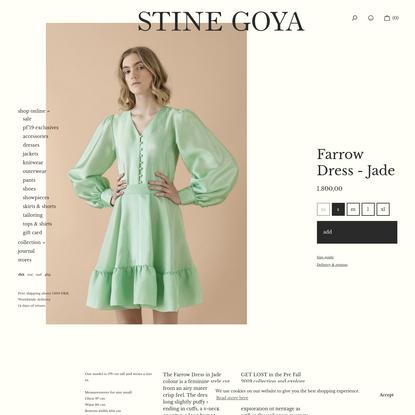 Farrow Dress - Jade
