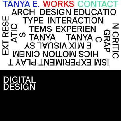 Tanya Ermolaeva - designer and art director