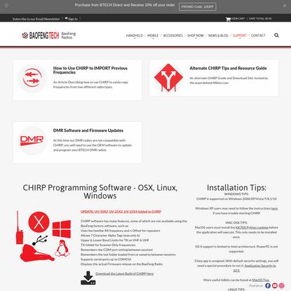 Download Software - BaoFeng