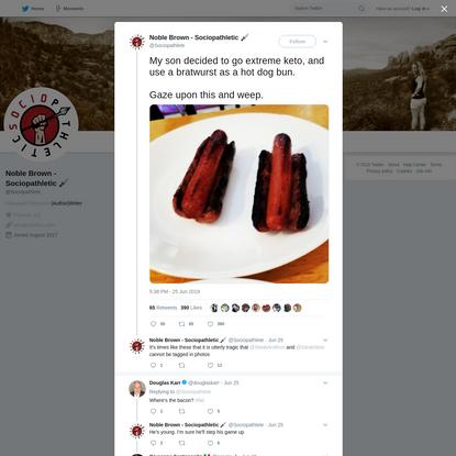 Noble Brown - Sociopathletic 🗡 on Twitter