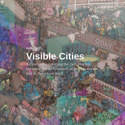 Visible Cities   Architecture Foundation