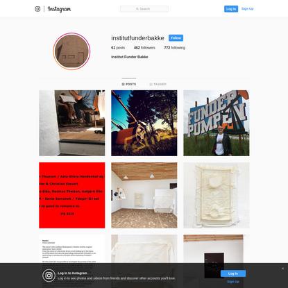 institut Funder Bakke (@institutfunderbakke) * Instagram photos and videos