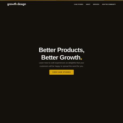 growth design case studies