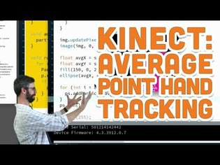 12.4: Average Point Hand Tracking - Kinect and Processing Tutorial