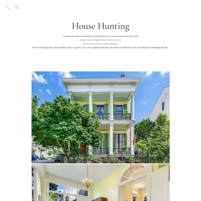 House Hunting - $1,700,000/5 br/5500 sq ft New Orleans, LA built...