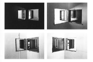 Gordon Matta-Clark - Bronx Floors 4 Way Wall, 1973